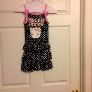 Sz 5/6 HELLO KITTY SUMMER DRESS